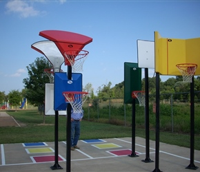 Bankshot Basketball Court